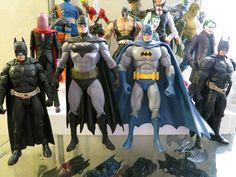 DCD and Mattel Batmen and Bat-Rogues1
