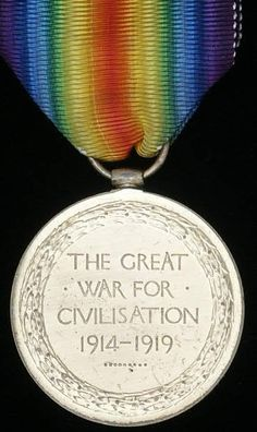 WW1 The British Victory Medal! Very colorful and pretty!