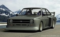 Ford Escort MK2 Group 5 racer. They should have produced a road going version.