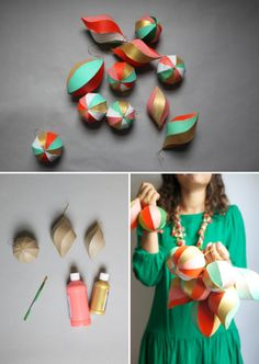 DIY christmas ornaments/decorations!!