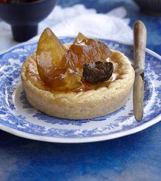 Green Fig, Cheese Tarts, Figs, Preserves, Cheesecake, Honey, Restaurant, Elegant, Sweet