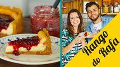 Cheesecake com calda de frutas vermelhas feat. Panela de Barros - Rango ...