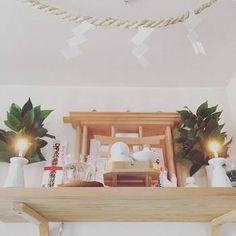 初詣のお神札どうしてる?北欧インテリアにも合うおしゃれな《神棚とまつり方》 Furniture, Home Decor, Decoration Home, Room Decor, Home Furnishings, Home Interior Design, Home Decoration, Interior Design, Arredamento