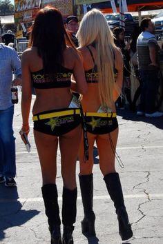Girls rockstar energy supercross