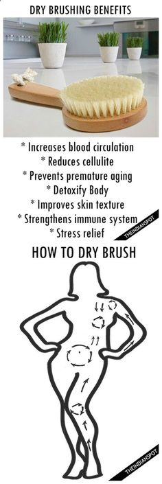 Dry Brushing benefits