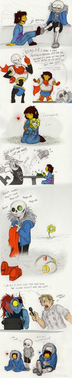 Colored Undertale doodles by JWiesner on DeviantArt