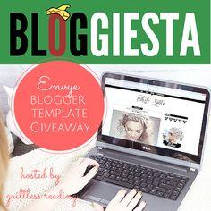 #WIN a gorgeous Blogger Template from Envye! Open worldwide. Ends Sept 30, 2014. @guiltlessreader @thewonderforest