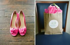 Kate Spade pink shoes. yes!!