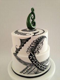 New Zealand/Samoan cake 50th Cake, 21st Cake, 21st Birthday Cakes, Take The Cake, Love Cake, Island Cake, Island Theme, Tongan Food, Tapas