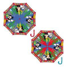 Paraguas automatico Mickey Disney 48cm surtido - http://comprarparaguas.com/baratos/disney/paraguas-automatico-mickey-disney-48cm-surtido/