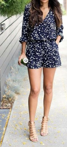 Maybe I could pull off a romper like this?