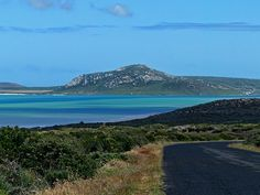 The popular town of Langebaan is just over 100 km from Cape Town on the West Coast off the next to Langebaan Lagoon. My Land, Cape Town, Continents, West Coast, South Africa, Around The Worlds, Ocean, Landscape, Places