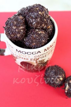 Greek Recipes, Low Carb Recipes, Cooking Recipes, Easy Sweets, Sweet Cooking, Christmas Sweets, Mocca, Breakfast Dessert, Confectionery