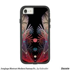 Jonglage Abstract Modern Fantasy Fractal Art Case-Mate Tough Extreme iPhone 8/7 Case