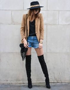 otk-black-boots-shorts-hat-street-style