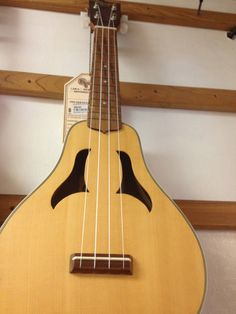 The Ohana CKP70 Concert Vita-Uke was displayed at McCabe's Guitar Shop in Santa Monica.