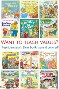 Raising kids in today's world is NOT EASY. These books have become a touchstone for us in reminding my family of what really matters while reinforcing the values and self-esteem my kids need to know. Read them with your kids now!