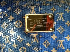 Buy this LOUIS VUITTON SIGNATURE BLUE *SEQUIN LARGE SATCHEL PURSE on Dresm.com