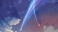 Your Name. Anime Sky Scenery Clouds Art Wallpaper