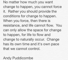 """Headspace on """"change"""""""