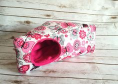 Hidey huts are the new favourite with Hedgehog and Guinea Pigs and Rats. They provide all the comfort (and more!) of snuggle sacks and beds