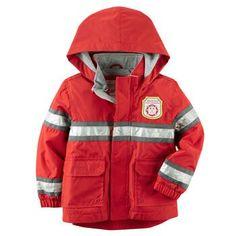 Boy's fireman rain coat