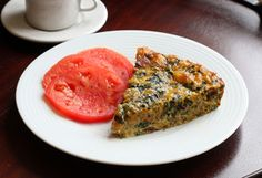 Crustless Quiche Recipe With Chard and Bacon - D.L. Rattray