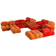 'Camaleonda' Modular Sofa by Mario Bellini for C&B Italia, 1970's at 1stdibs
