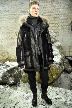 Catwalk photos and all the looks from Belstaff Autumn/Winter 2016-17 Menswear London Fashion Week