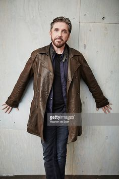 2016 TCA's Mustache And Goatee, Craig Ferguson, Late Night Show, Joy Division, Lets Dance, All About Time, How To Look Better, Handsome, Leather Jacket