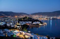 View of Bodrum at night. This photo is taken from an angle that I don't recognize but still love it!