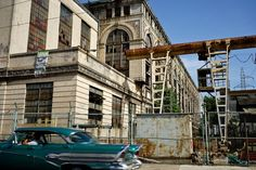 The defunct Tallapiedra electric plant. Photos by Hannah Berkeley Cohen. This May, visitors were allowed into Havana's long-defunct Tallapiedra electric plant for the first time since it was shuttered in the 1960s. They could climb the grated stairs to...