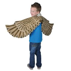 Eagle Costume: Wings at theBIGzoo