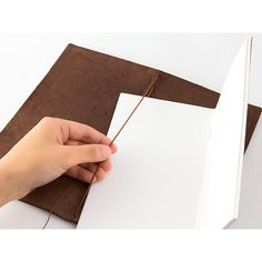 Traveler's Company Leather Journal Starter Kit Brown