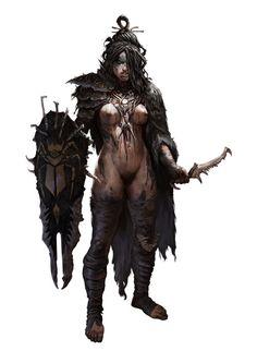Cockroaches Clan - Degenesis, by Marko-Djurdjevic (? High Fantasy, Fantasy Rpg, Medieval Fantasy, Fantasy Girl, Fantasy Artwork, Fantasy Warrior, Dnd Characters, Fantasy Characters, Female Characters