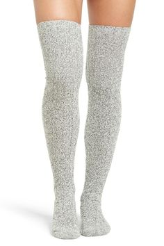 Marled Cable Knit Thigh High Socks by PEONY AND MOSS on @nordstrom_rack