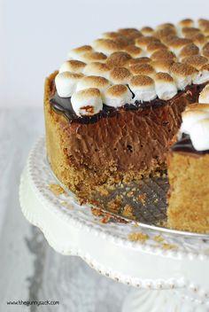 Smores Cheesecake Recipe