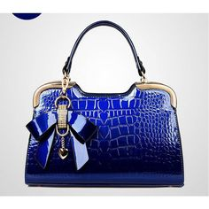 Crocodile Bow Handbag