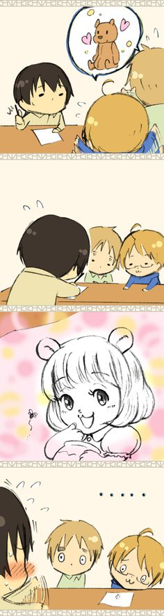 Hetalia - Chibi England, America, Japan, and China : The Bear Part 4 / 5