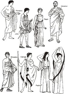 I like all the clothes Ancient Greece clothes