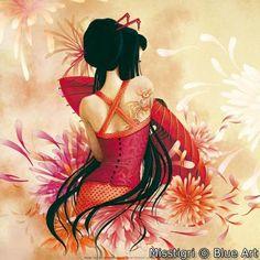 """""""Miss Swan"""" par MISSTIGRI"""