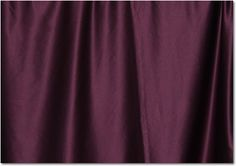 Add some real drama with this eggplant tone. Notice is matches your organza - like ribbon ties in your napkins!??