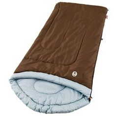 Sleeping Bag-Sleep comfortably, even when it?s F outside in the Coleman® Willow Creek? The warm weather bag fits heights up to 5 ft. 11 in. and is designed to keep you cozy. The contoured head with C Tent Camping, Camping Gear, Outdoor Camping, Camping Items, Camping Supplies, Camping Stuff, Camping Hacks, Best Sleeping Bag, Kids Sleeping Bags