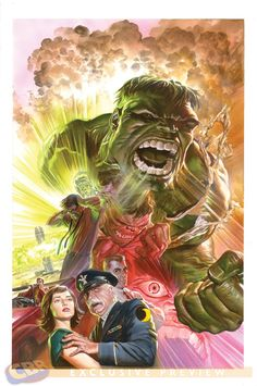 Savage Hulk by Alex Ross