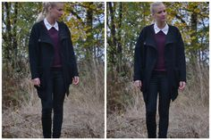 Black Swan - Black Swan Wool Jacket - Comfy and Casual Chic. Perfect for Winter Outfit.