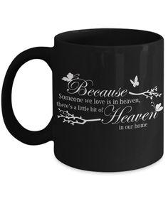 HEAVEN IN OUR HOME MUG #heaveninourhome #heaven #husbandinheaven #mug #coffee