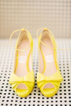 Image result for bride yellow shoes