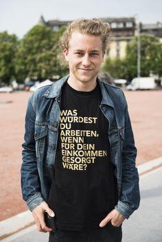 T-Shirt Grösste Frage