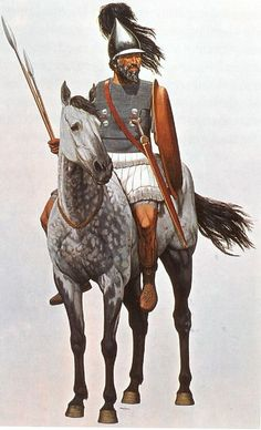 Ilustrations and images of the Hellenistic Period. Ancient Rome, Ancient Greece, Ancient Art, Ancient History, Military Art, Military History, Punic Wars, Hellenistic Period, Greek Warrior