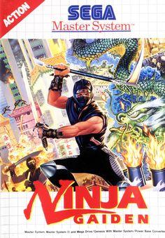 Ninja Gaiden - Sega Master System cover art